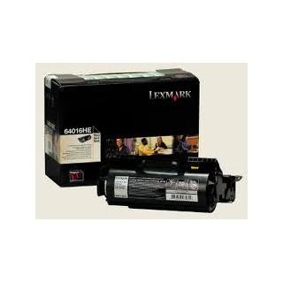 64016HE Toner Noir pour imprimante Lexmark T640n/tn/dtn, T642n/tn/dtn