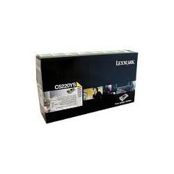 C5220YS Toner Jaune pour imprimante Lexmark C522 C524 C530 C532 C534