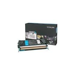 C5242CH Toner Cyan 5k pour imprimante Lexmark C522/C524/C530/C532/C534