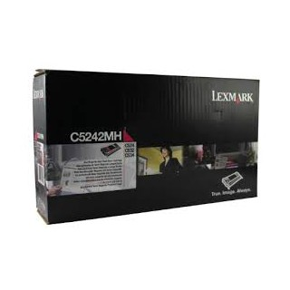 C5242MH Cartouche de Toner Magenta Lexmark pour imprimante C524