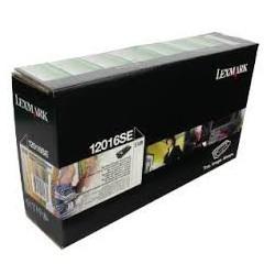 12016SE Toner Noir Lexmark 2k pour imprimante Lexmark pour imprimante e120, e120n