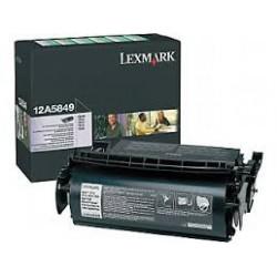 12A5840 Toner Noir Lexmark 10k pour imprimante T610