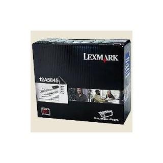 12A5845 Toner Noir 25k pour imprimante Lexmark Optra T610, T610n, T612, T614