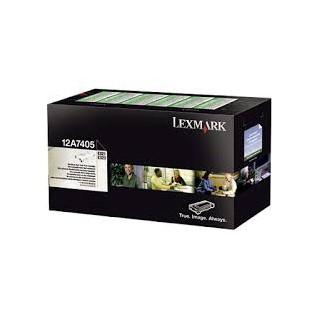 12A7405 Toner Noir Lexmark 6k pour imprimante E321, 323