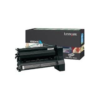 15G041C Toner Cyan pour imprimante Lexmark C752, C760, C762, X752e, X762e