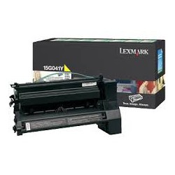 15G041Y Toner Jaune 6k pour imprimante Lexmark C752, C760, C762, X752e, X762e