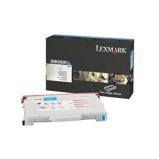 20k0500 Toner Lexmark Cyan 3k pour imprimante C510