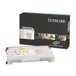 20K0502 Toner Jaune pour imprimante Lexmark C510/dn/dtn/n/tn