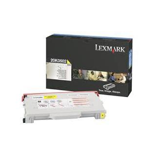 20k0502 Toner Lexmark Jaune 3k pour imprimante C510