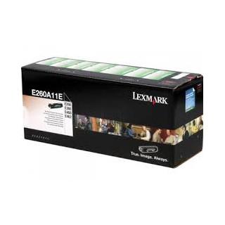 E260A11E Toner Lexmark Noir 3,5k pour imprimante E460, E462, E260, E360