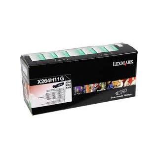 X264H11G Toner Noir pour imprimante Lexmark X264, X363, X364