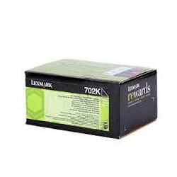 70C20K0 Toner Noir Lexmark 1k pour imprimante CS310, CS410