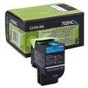 70C20C0 Toner Cyan Lexmark 1k pour imprimante CS310, CS410