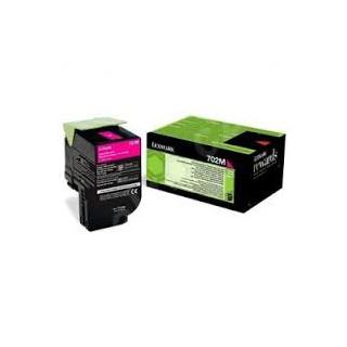 70C20M0 Toner Magenta Lexmark 1k pour imprimante CS310, CS410