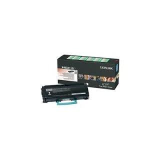 X463X11G Toner Noir Lexmark HC 15k pour imprimante X463, 466