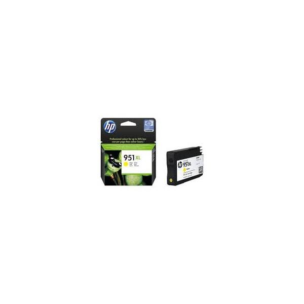 cn048ae cartouche d 39 encre jaune n 951 xl imprimante hp officejet pro 8100 et 8600. Black Bedroom Furniture Sets. Home Design Ideas