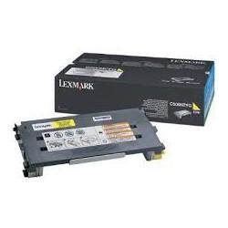 C500H2YG Toner Jaune pour imprimante Lexmark X500n, X502n, C500