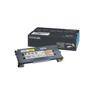 C500H2YG Toner Lexmark Jaune 3k pour imprimante C500