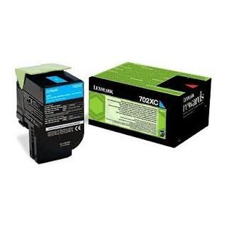70C2XC0 Toner Cyan Lexmark 4k pour imprimante CS510