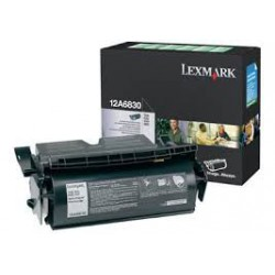 12A6830 Toner Noir Lexmark pour imprimante T520 / T522