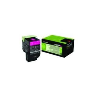 80C2HM0 Toner Magenta Lexmark 3k pour imprimante CX510