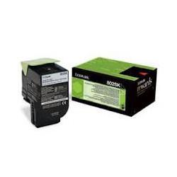 80C2XK0 Toner Noir Lexmark 8k pour imprimante CX510
