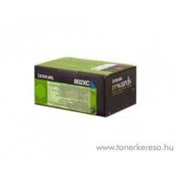 80C2XC0 Toner Cyan pour imprimante Lexmark CX510, CX510de, CX510dhe, CX510dthe