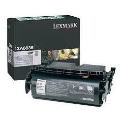 12A6835 Toner Noir Lexmark 20k pour imprimante T520