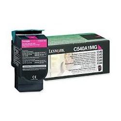 C540A1MG Toner Magenta Lexmark 1k pour imprimante C540, C543, C544, X543, X544