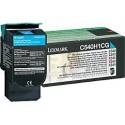 C540H1CG Toner Cyan Lexmark 2k pour imprimante C543, 544, 546