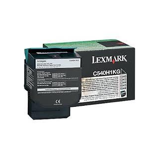 C540H1KG Toner Noir Lexmark 2,5k pour imprimante C543, 544, 546