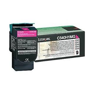 C540H1MG Toner Magenta Lexmark 2k pour imprimante C543, 544, 546