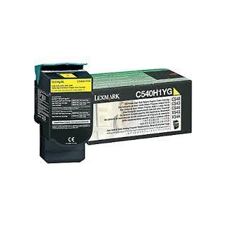 C540H1YG Toner Jaune pour imprimante Lexmark C543, C544, C546