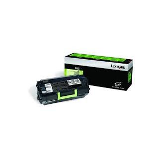 62D2000 Toner Noir Lexmark 6k pour imprimante MX510 MX511 MX611