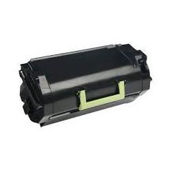 62D2H00 Toner Noir Lexmark 25k pour imprimante MX510 MX511 MX611