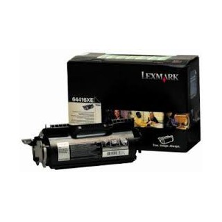 64416XE Toner Noir Lexmark 32k pour imprimante T644
