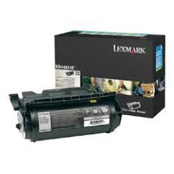 X644A11E Toner Noir 32k pour imprimante Lexmark X640e X642e, X644e, X646dte