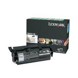 T654X11E Toner Noir 36k pour imprimante Lexmark OPTRA T654 et T656