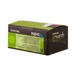 70C2HC0 Toner Cyan Lexmark 3k pour imprimante CS310, CS410