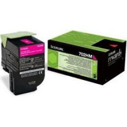 702HM 70C2HM0 Toner Magenta Lexmark 3k pour imprimante CS310, CS410