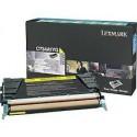 C734A1YG Toner Jaune 6k pour imprimante Lexmark C734, C736, X734, X736, X738