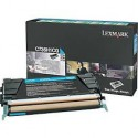 C736H1CG Toner Cyan Lexmark 10k pour imprimante C736DN, C736N, X736DTN, X736DE, X738DE