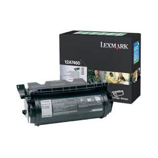 12A7460 Toner Noir Lexmark 5k pour imprimante T630, T632