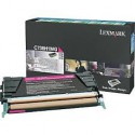 C736H1MG Toner Magenta Lexmark 10k pour imprimante C736DN, C736N, X736DTN, X736DE, X738DE