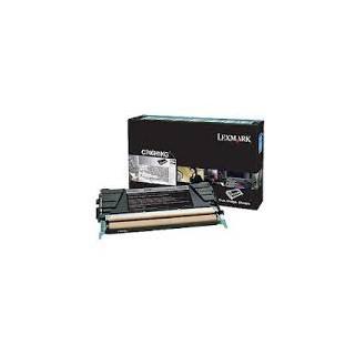 C746H1KG Toner Noir Lexmark 12k pour imprimante C746, 748