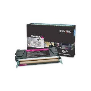 C748H1MG Toner Magenta Lexmark 10 k pour imprimante C748