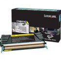 C748H1YG Toner Jaune Lexmark 10k pour imprimante C748