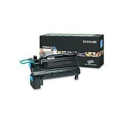 C792X1CG Toner Cyan Lexmark 20k pour imprimante C780, C782, X782E