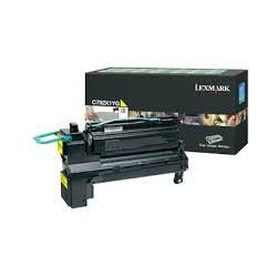 C792X1YG Toner Jaune Lexmark 20k pour imprimante C780, C782, X782E, C792