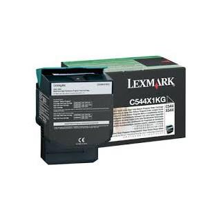 C544X1KG Toner Noir pour imprimante Lexmark C544 C546 X544 X546